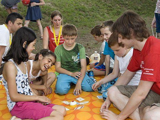 Viele Events im Park gibt es in den Sommerferien für Kinder