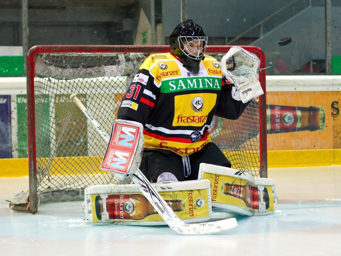 David Madlener wechselt leihweise von der VEU Feldkirch zum EBEL-Klub Dornbirner EC.