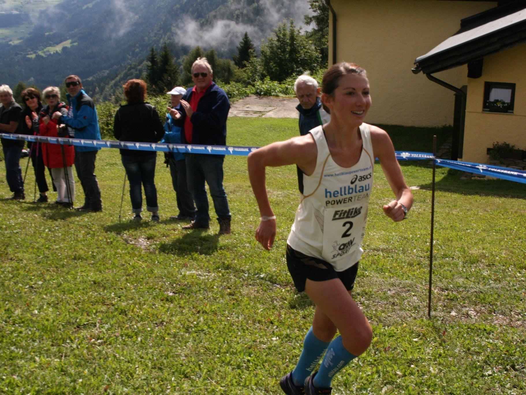 Die Dornbirnerin Sabine Reiner wurde bei ihrem Comeback ausgezeichnete Dritte.