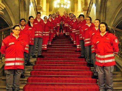 Wiener Rote Kreuz setzt auf jugendlichen Nachwuchs