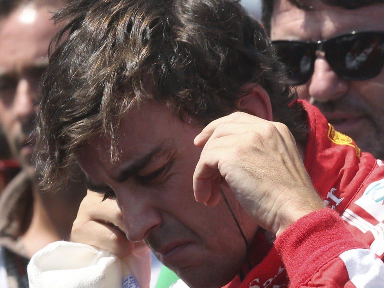 Rüge für Alonso.