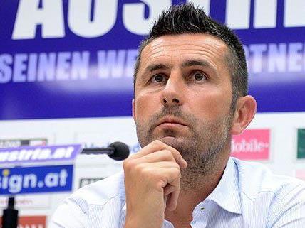 Austria-Trainer Nenad Bjelica will seine Spieler für die entscheidenden Spiele um die Teilnahme an der Champions League fit bekommen