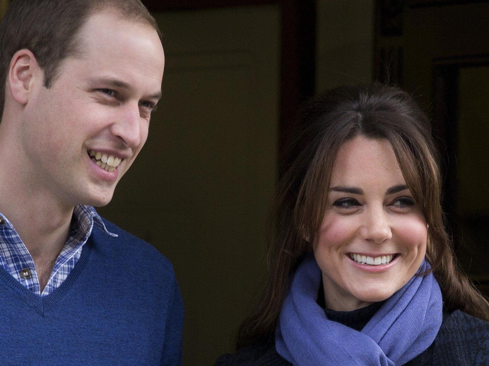 Prinz William und Herzogin Kate warten auf das Baby