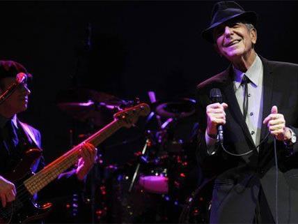 Ein magischer Konzertabend steht bevor: Leonard Cohen live in Wien.