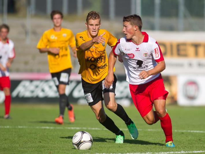 Altach Amateure gewinnt das Ländlederby in Dornbirn mit 2:0 und bleibt der Angstgegner.