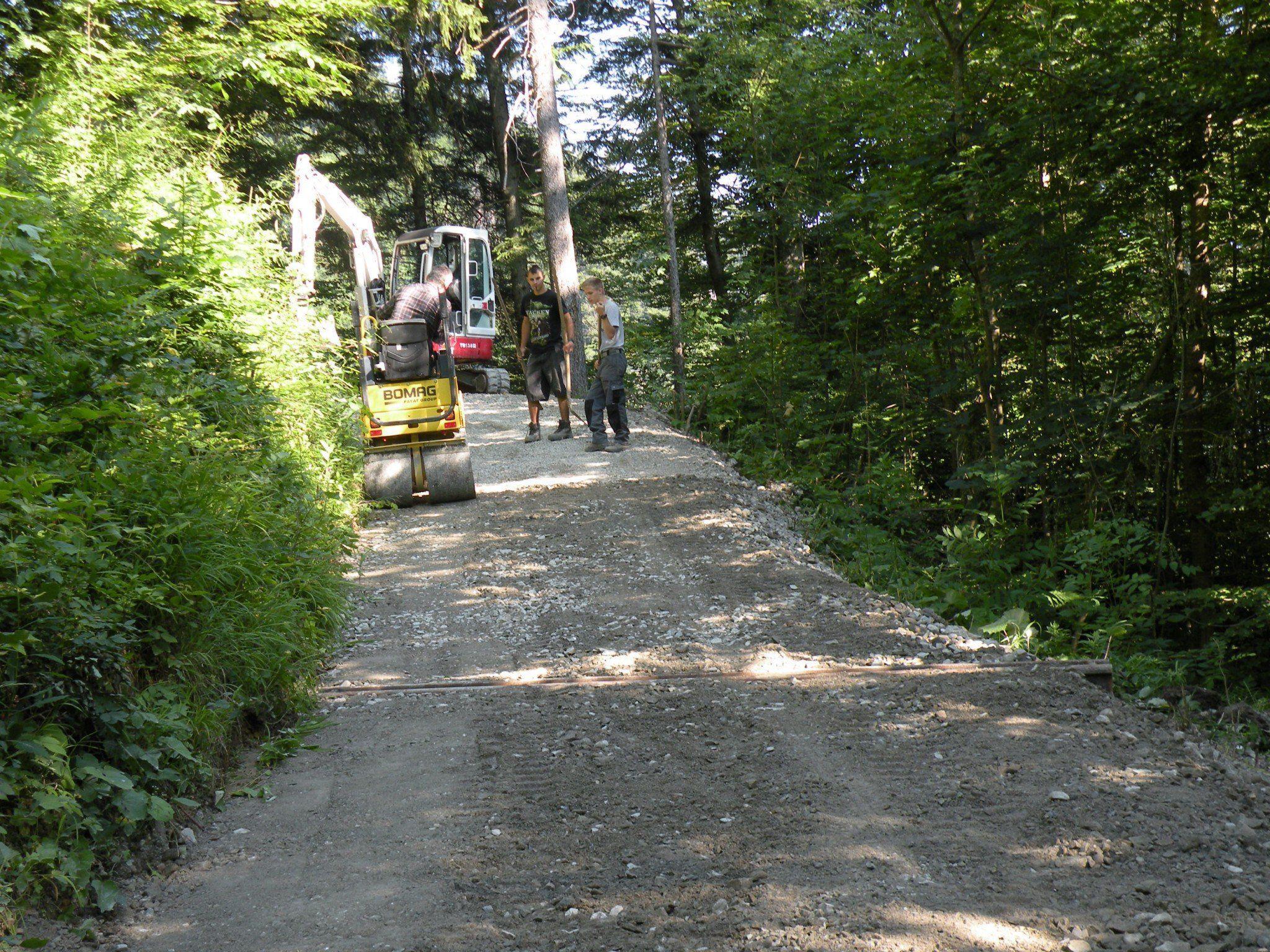 Der Wanderweg von der Karren-Bergstation bis ins Tal wurde in den vergangenen zwei Wochen saniert.
