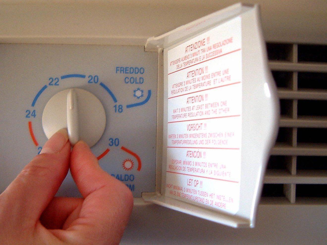 Trotz vermehrtem Einsatz von Klimaanlagen bleibt der Stromverbrauch in Wien geringer als im Winter.