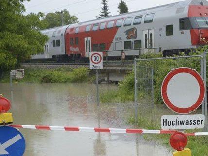 In Kritzendorf waren die Flüchtlinge im Hochwassereinsatz.