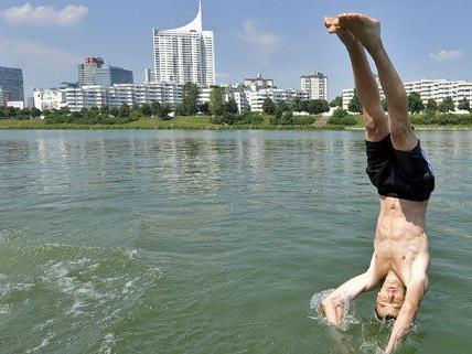 Rund um die Donauinsel darf wieder gebadet werden.