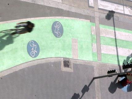 Die Testergebnisse zu den grünen Radwegen liegen noch nicht vor.