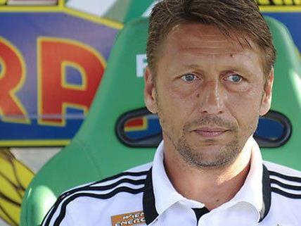 Rapid Coach Zoran Barisic will seiner Mannschaft noch Zeit geben