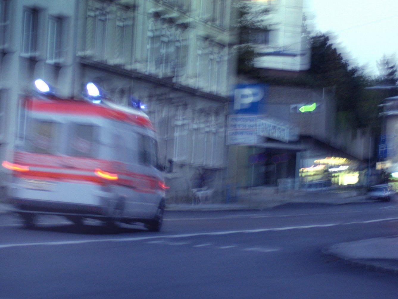 Ein Moped-Fahrer verletzte sich bei einem Unfall in Wien-Ottakring.