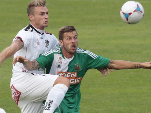 Keinen Sieg gab es am Samstag für Rapid Wien.