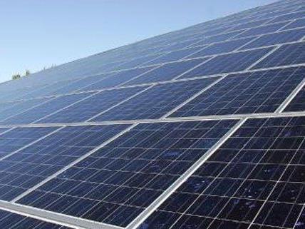 Solar-Kraft in Wien-Mitte.