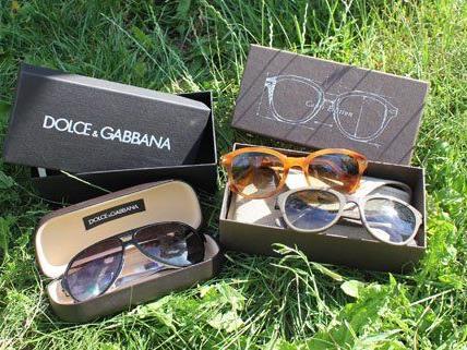 Wir verlosen drei Sonnenbrillen der marken Dolce & Gabbana und Persol.