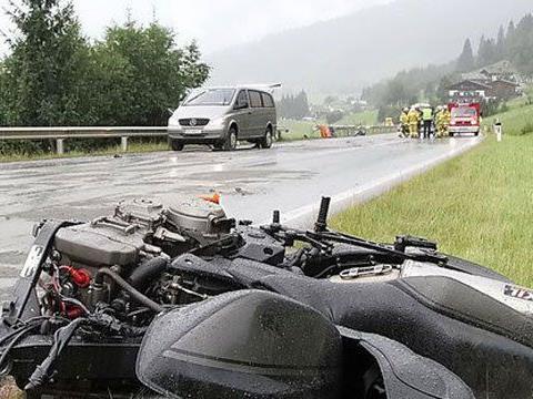 Weniger Unfalltote auf Österreichs Straßen im letzten Jahr.