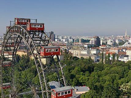 Die Stadt Wien wächst kontinuierlich.