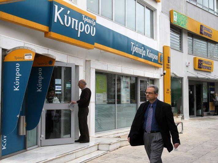Für Sparguthaben von mehr als 100.000 Euro bei Bank of Cyprus
