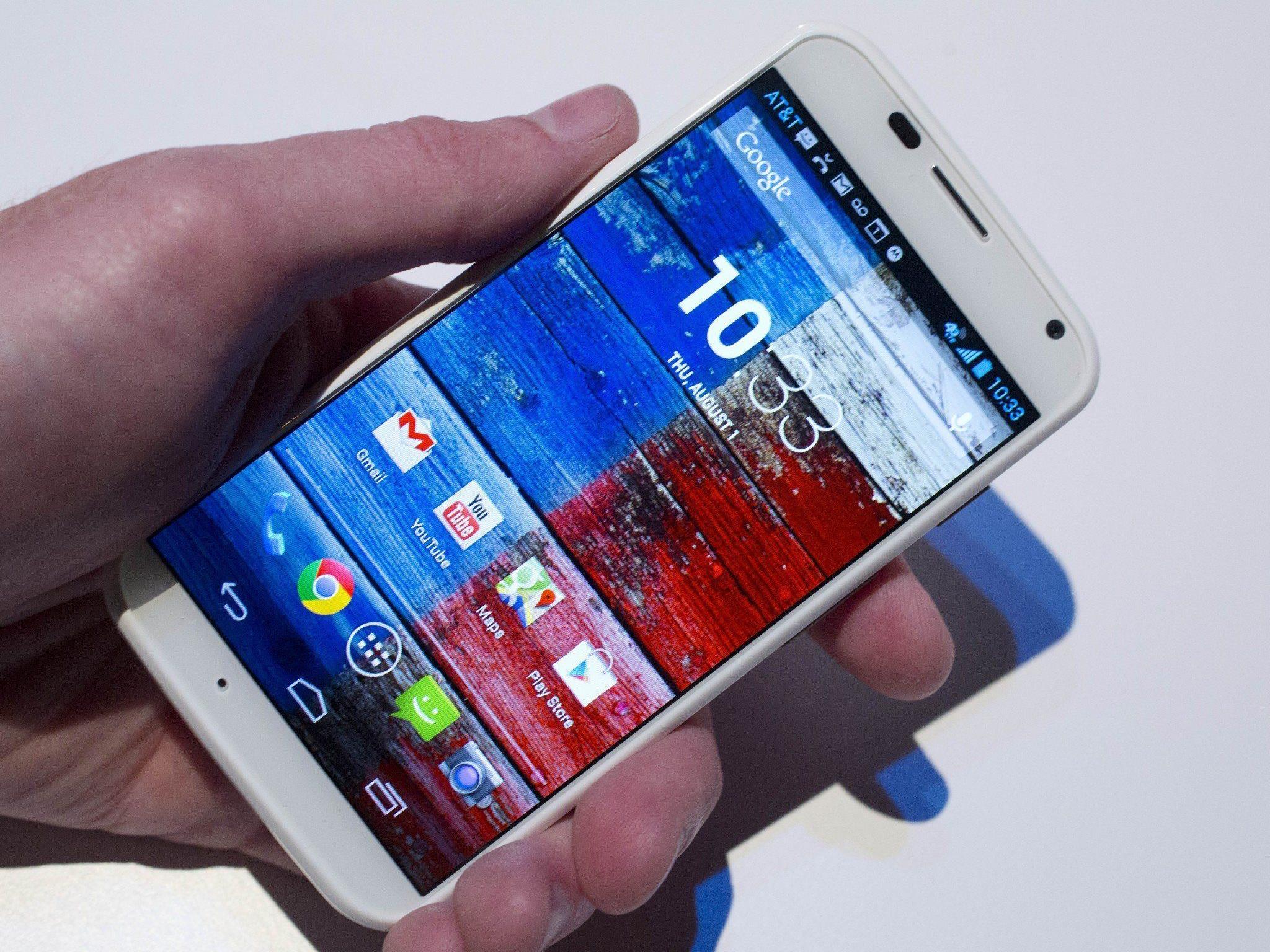 Das neue Moto X von Google soll nun mit Samsung und Apple konkurieren.