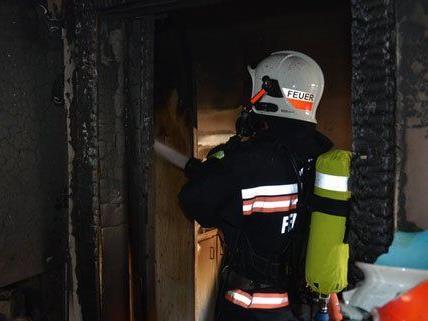 Zimmerbrand im Dachgeschoss