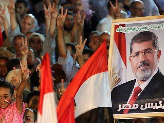 Ramadan-Ende und Mursi werden gefeiert