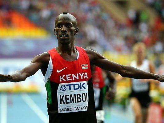 Kemboi entschied das kenianische Duell für sich