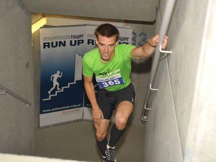 Der Millennium Tower Run Up gilt als der härteste Treppenlauf der Welt.