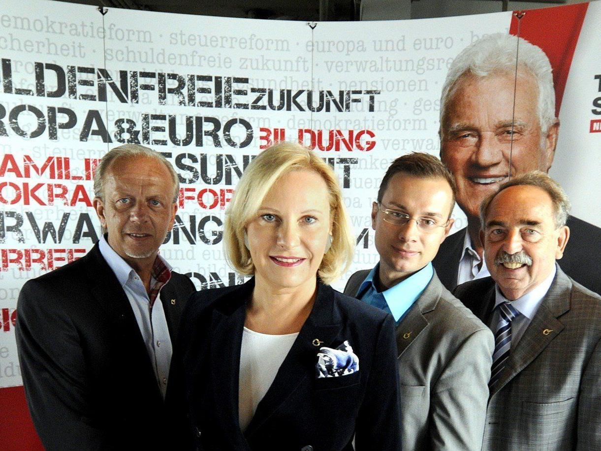 Das Team Stronach will in Wien 10 Prozent der Stimmen ereeichen.