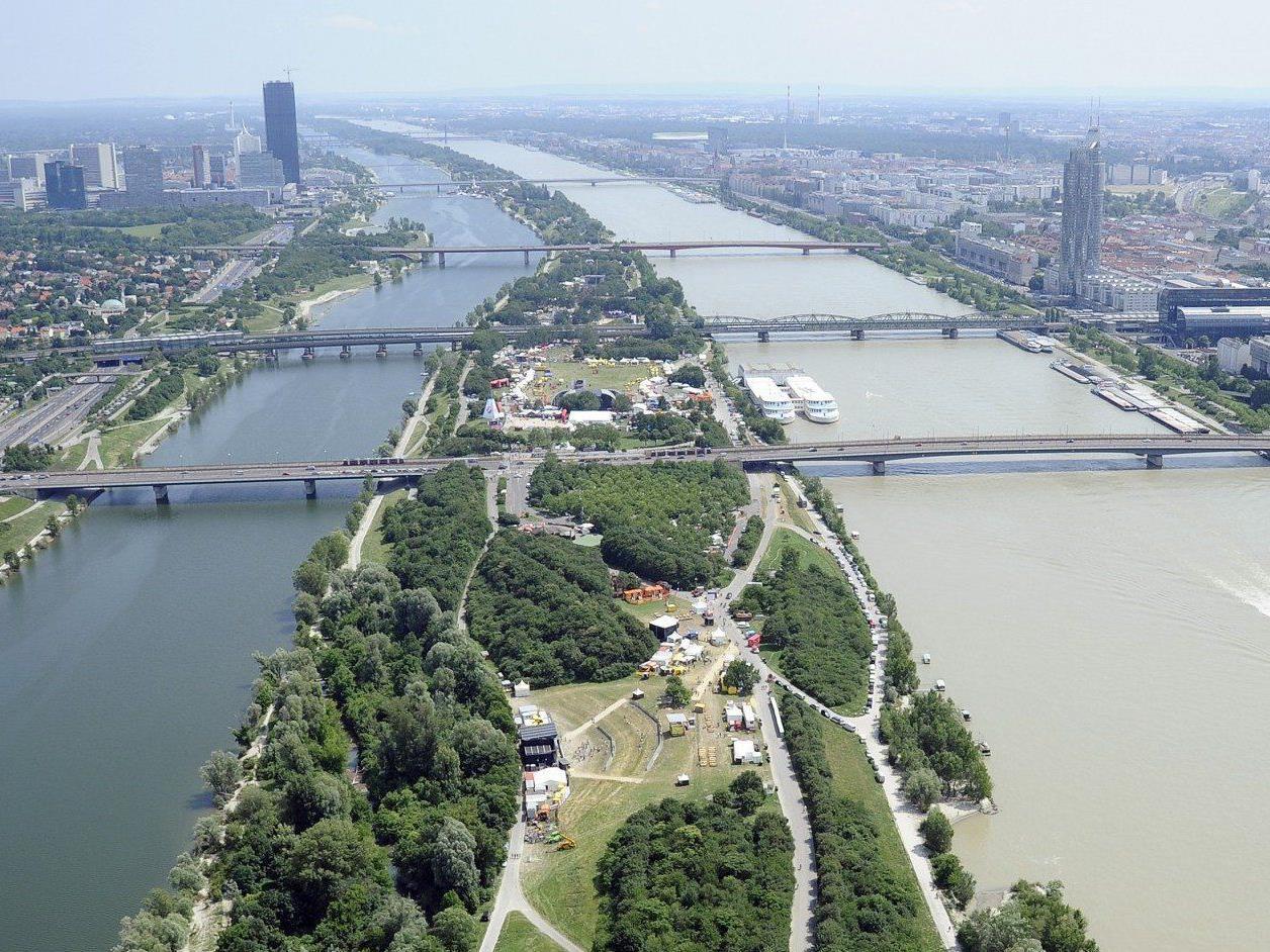 Der Inselservice sorgt für Ordnung auf der Wiener Donauinsel.