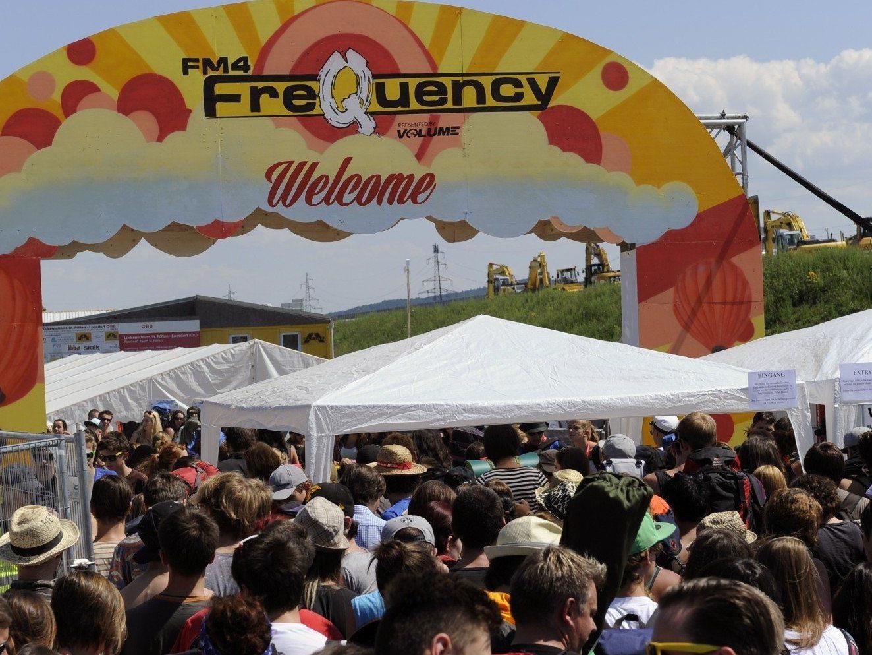 Das Rote Kreuz ist für die Besuchermassen am Frequency Festival gerüstet.