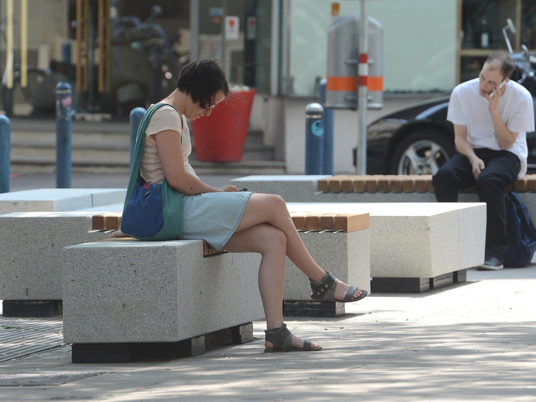 Neue Möbel auf der Mariahilfer Straße
