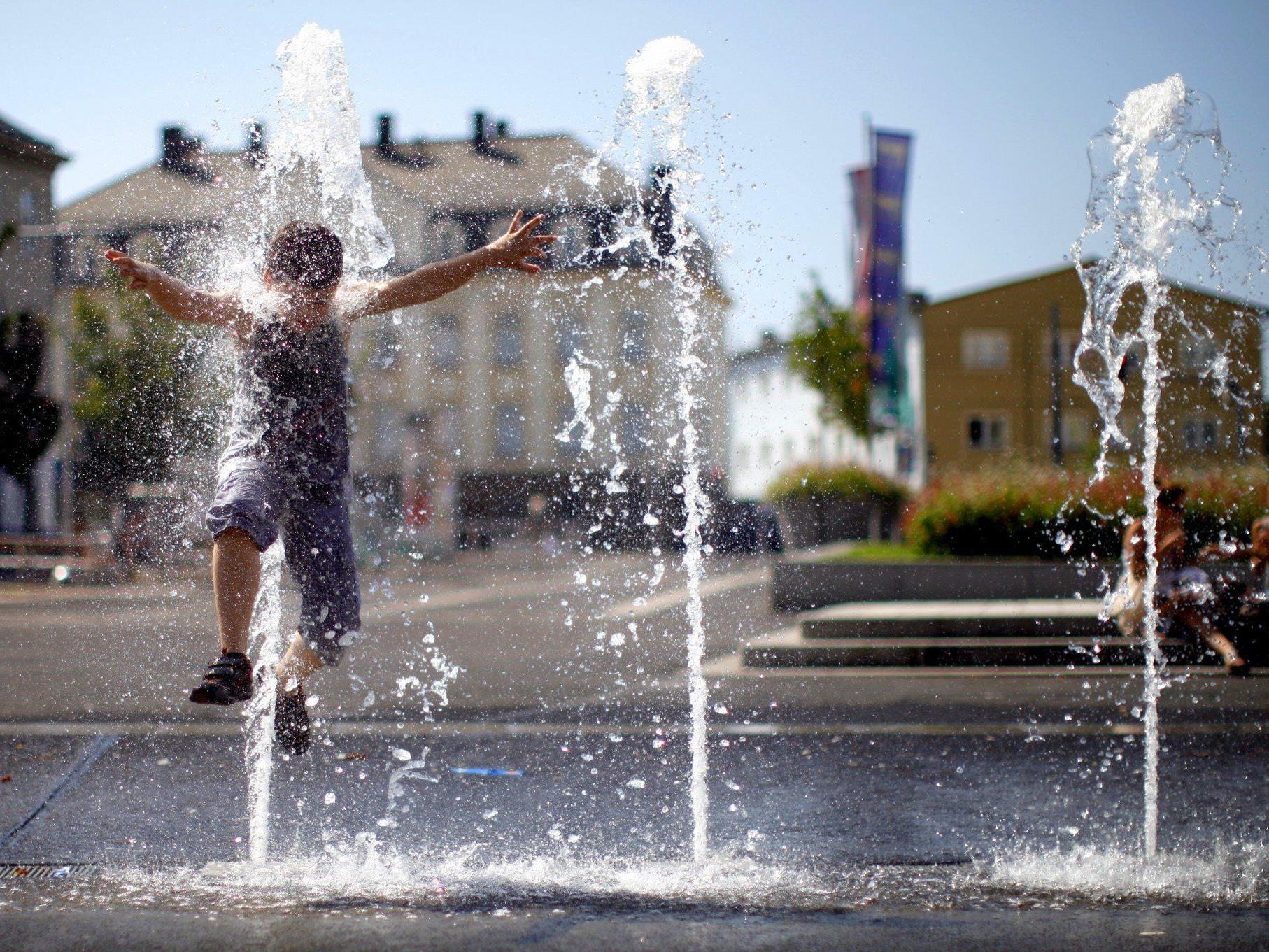 Es bleibt in der kommenden Woche hochsommerlich warm in Wien