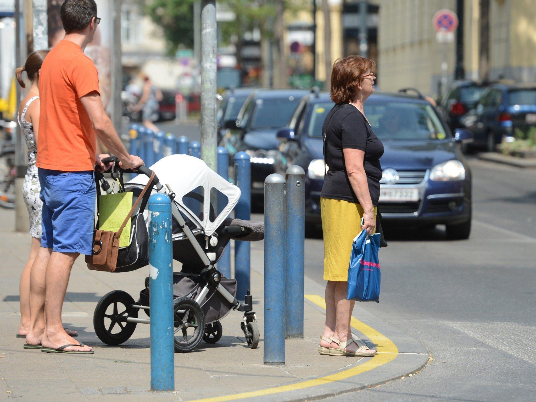 Neugestaltung der Wiener Mariahilfer Straße: Parken bis Mittwoch möglich
