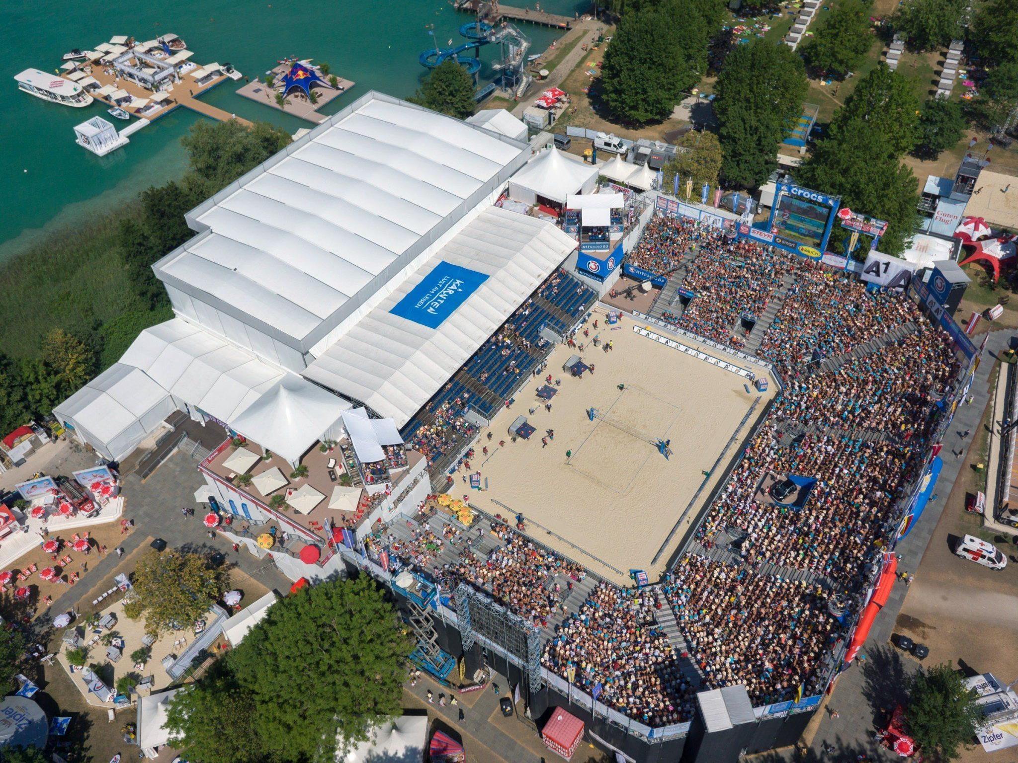 Kärnten im Beach Volleyball Fieber
