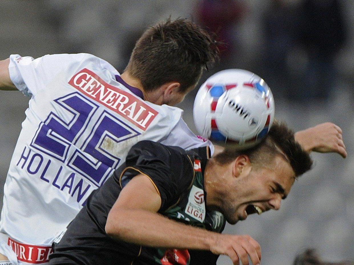Wir berichten am Samstag ab 19 Uhr live vom Spiel FK Austria Wien gegen FC Wacker Innsbruck in unserem Ticker.