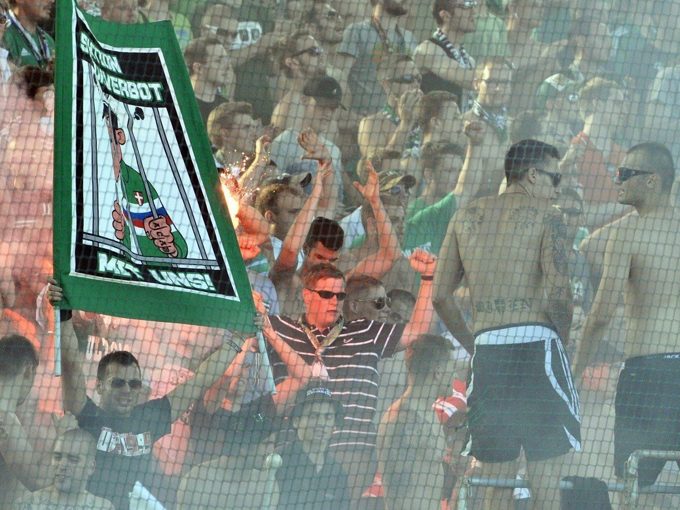 Das Europa League-Qualifikationsspiel zwischen Rapid und Tripolis endete 1:1.