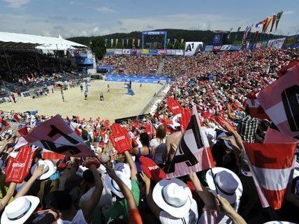 Hochspannung auch am Donnerstag bei der Beach Volleyball EM