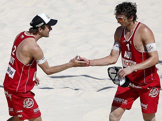 Seit Jahren ein gutes Team: Alexander Huber (l.) und Robin Seidl