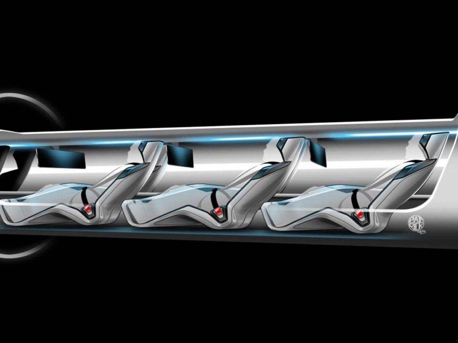 Erdbeben, Geld, Übergewicht - Die Entwicklung des Hyperloops steht schon jetzt vor einigen Problemen.