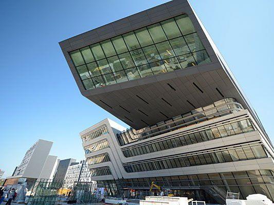 Der neue Campus der WU im Wiener Prater