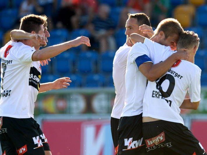 Dritter Sieg im dritten Spiel für Altach