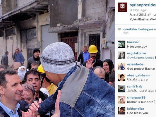 USA: Auftritt bei Online-Fotodienst beschönige syrischen Bürgerkrieg.