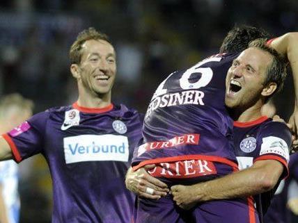 Nach dem letzten Kantersieg fühlt sich die Wiener Austria bereit für Dinamo Zagreb
