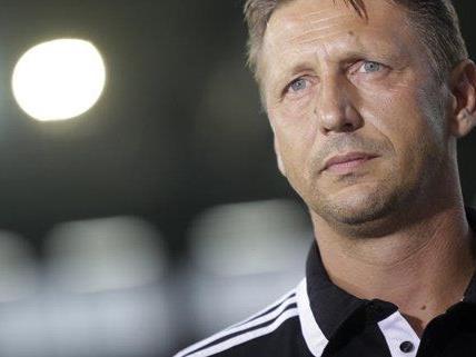 Rapid Trainer Zoran Barisic sieht sich nicht als Favorit gegen Dila Gori