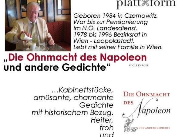 Flyer Adolf Karger 20.10.