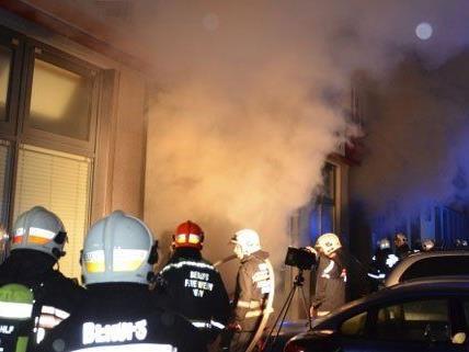 70 Feuerwehrleute waren in der nacht auf Mittwoch im Einsatz.