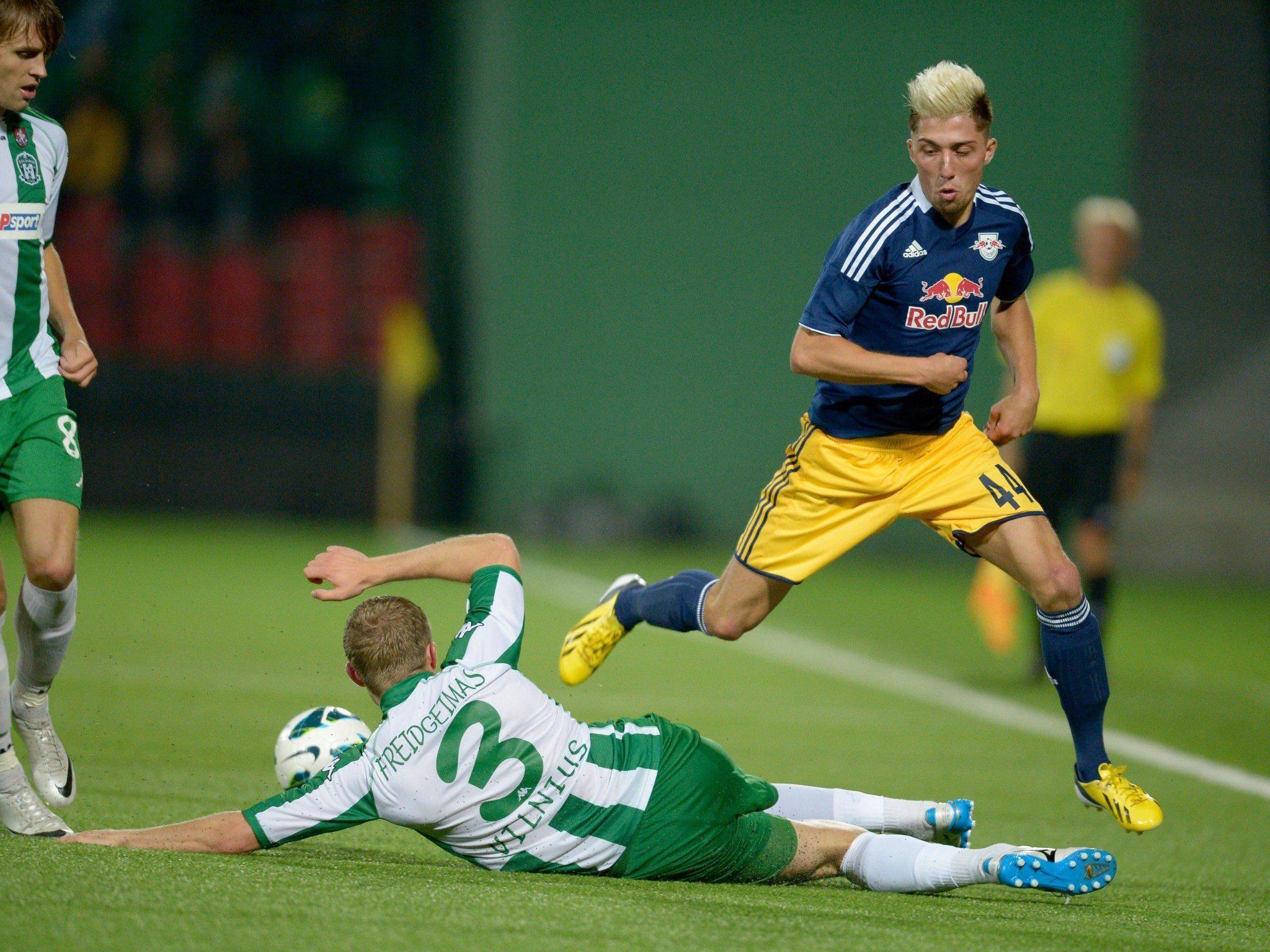 Klare Sache für Salzburg, ein 5:0 im Rücken lässt einen die Sache aber auch entspannter angehen.
