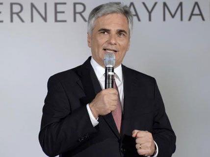 Mehr Zusammenarbeit mit den NGOs wünscht sich Kanzler Werner Faymann.