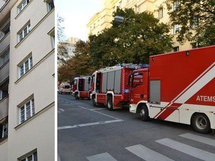 Brand in Wien 20 am Mittwochabend.