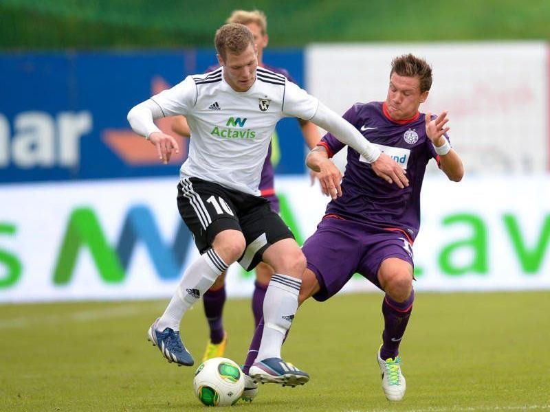 Bei 13 Grad Celsius erzielte die Wiener Austria am Mittwoch ein 0:0 in Island.